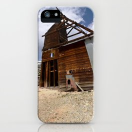 At the Longfellow Mine, elevation 11,080 feet, No. 4 of 13 iPhone Case