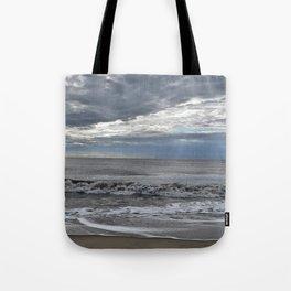 Summer Morning Beach Tote Bag