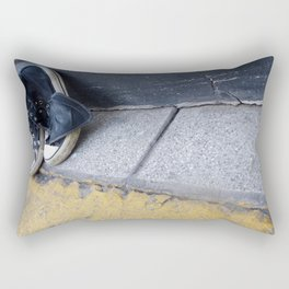 Alone on the street Rectangular Pillow