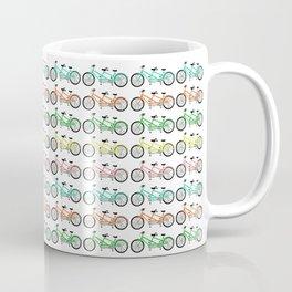 tandem bikes - multi color Coffee Mug