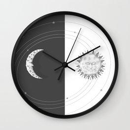 Nighttime/Daytime  Wall Clock
