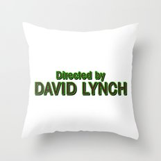 Directed by David Lynch Throw Pillow