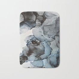 Smoke Show - Alcohol Ink Painting Bath Mat