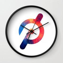Peloton Galaxy Logo Wall Clock