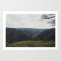 middle earth Art Prints featuring middle earth 2  by anjastensrud
