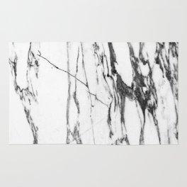 Classic White Marble #1 #decor #art #society6 Rug