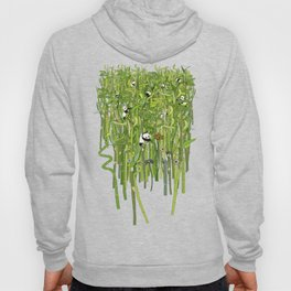 Traveling Pandas in Bamboo Forest Hoody