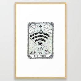 The Wifi Framed Art Print