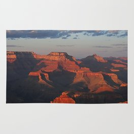 Grand Canyon Sunset Colors Rug