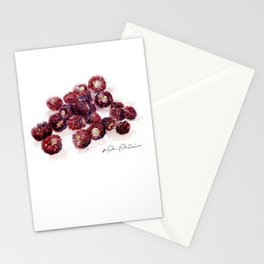 Backyard Berries Stationery Cards