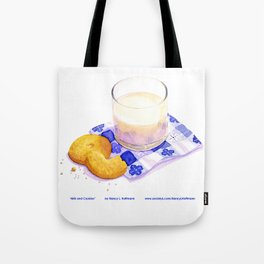 Milk & Cookies Tote Bag
