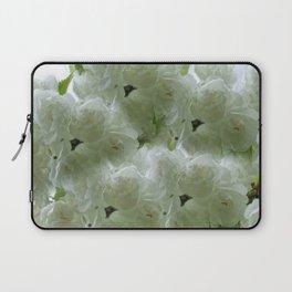 White Cherry Blossom pattern Laptop Sleeve