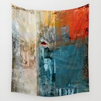 lonely Wall Tapestries featuring Lonely Girl by Fernando Vieira
