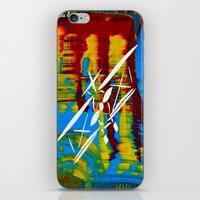 airplane iPhone & iPod Skins featuring Airplane by Lue Brentwood