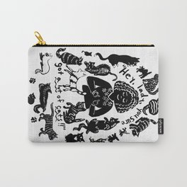 Hey, lady! Carry-All Pouch