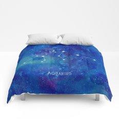 Constellation Aquarius Comforters