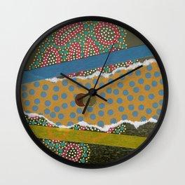 Saluti Dal Futuro 123 Wall Clock