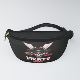 Pirate Boy Skull Corsair Captain Outfit Fanny Pack