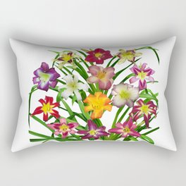 Display of daylilies II Rectangular Pillow