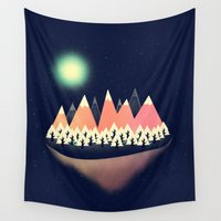sale Wall Tapestries featuring The Other Side by Zach Terrell