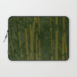 Bamboo jungle Laptop Sleeve