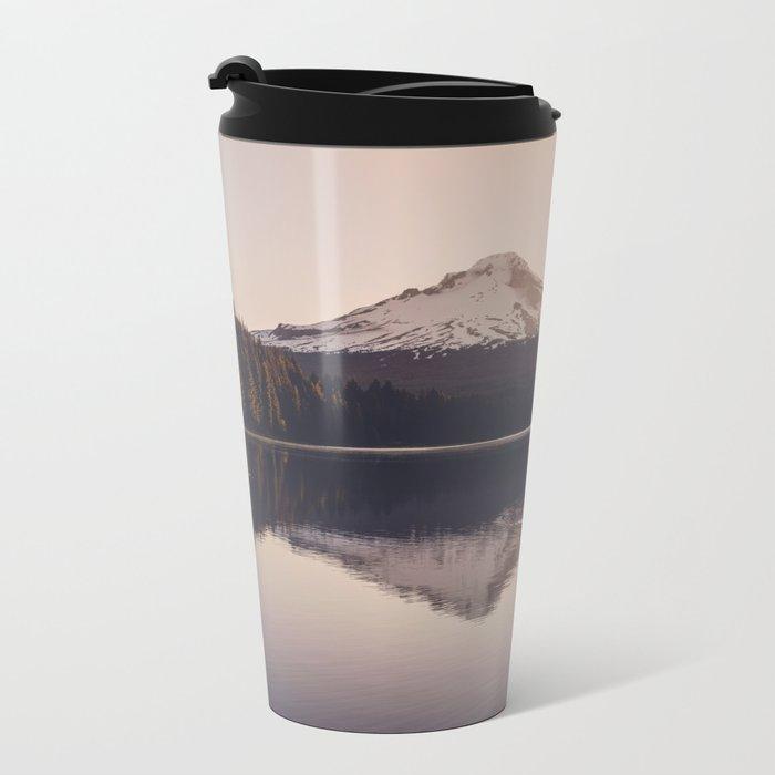 Wild Mountain Sunrise Metal Travel Mug
