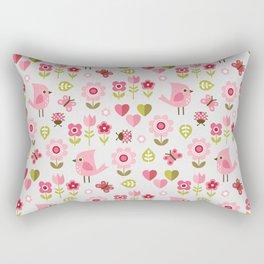 JARDIN DE L'AMOUR Rectangular Pillow