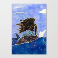Lady of the Atlantic Crossing Canvas Print