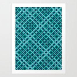 Striped 1 Art Print