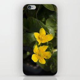 """""""Fleurs jaunes"""" iPhone Skin"""
