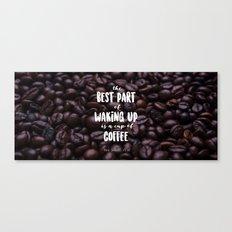 Cup o coffee Canvas Print