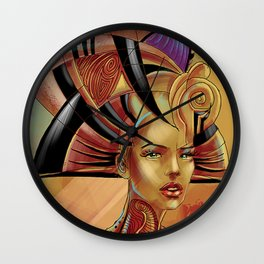 Illyrian Pharao Wall Clock