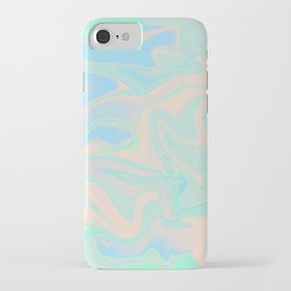 Faux Holographic Iridescent Texture iPhone Case