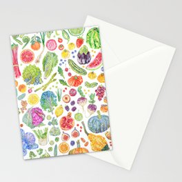 Seasonal Harvests Stationery Cards