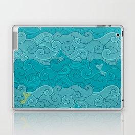 Surf Side - AQUA Laptop & iPad Skin