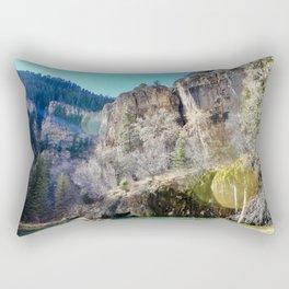 Hanging Lake II Rectangular Pillow