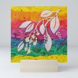 Leaves on the World Tree: Bamars Padauk Mini Art Print