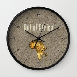 Out of Africa Wall Clock