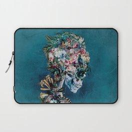 Floral Skull RP Laptop Sleeve