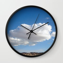 cloud photography Wall Clock