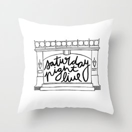 SNL Stage Throw Pillow