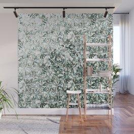 White Diamond Abstract Art Pattern 04 Wall Mural