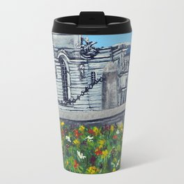 Spring at City Hall, Cardiff Travel Mug