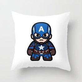 captain end Throw Pillow