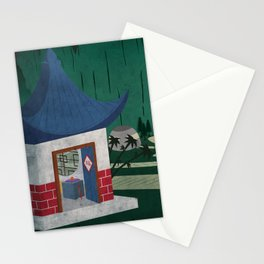 Four of Seven Stationery Cards