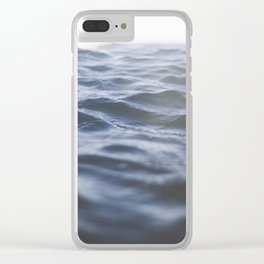 The Space that Holds the Ocean Clear iPhone Case