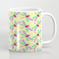 bugs Mugs featuring Bugs by Ophelia Mercedes