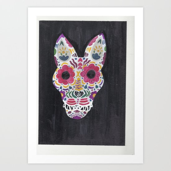 perro de los muertos Art Print