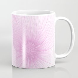 Pink Spring   Flower, abstract digital painting, cute floral pattern, pretty pastel flowers Coffee Mug