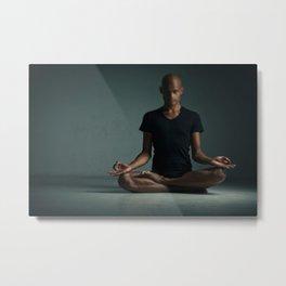 Yoga Zen Metal Print